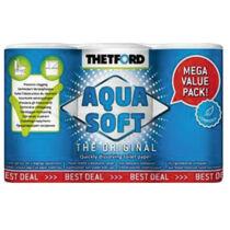 Aqua Soft WC-papír 6 tekercs