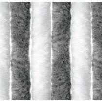 Bejárati függöny 100x205 cm fehér/ezüst