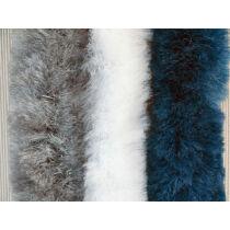 Bejárati függöny 56x205 cm kék/fehér/szürke