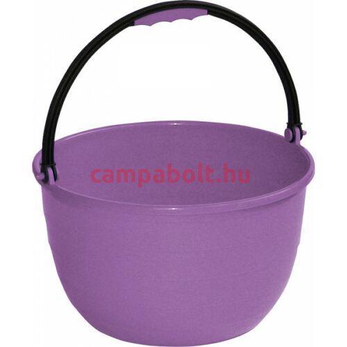 Praktikus, lila színű vödör pl. mosogatáshoz.