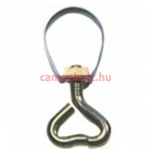 Csőbilincs szívcsavarral, 25 mm