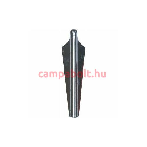 Alumínium cövek, 33 cm hosszú