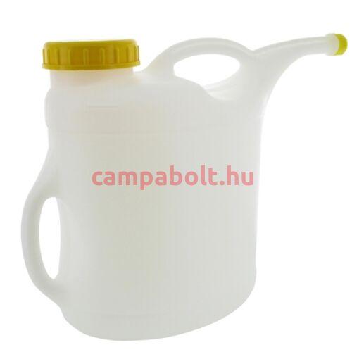 Vizeskanna locsoláshoz, tartály feltöltéshez, 10 liter