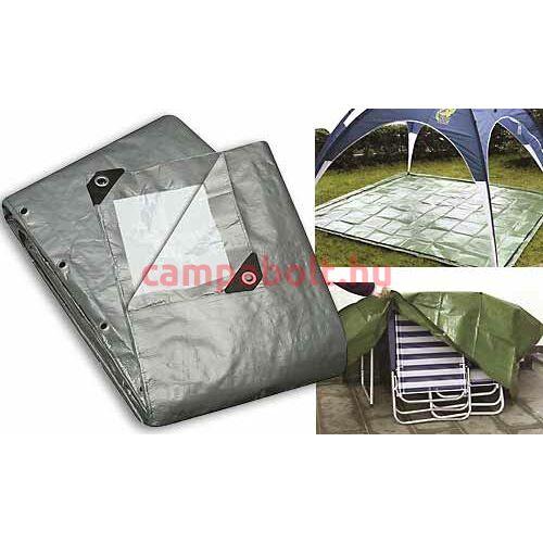Kültéri védőtakarókerti bútor, kerti főzőberendezés, csónak, illetve medence számára. Mérete: 300 x 400 cm
