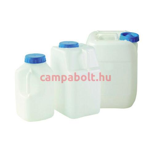 Vizeskanna 10 liter. (A képen a középső kanna.)