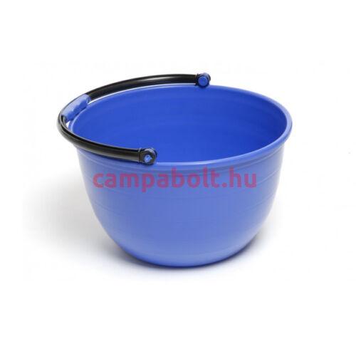 Esztétikus megjelenésű vödör, kék színben.