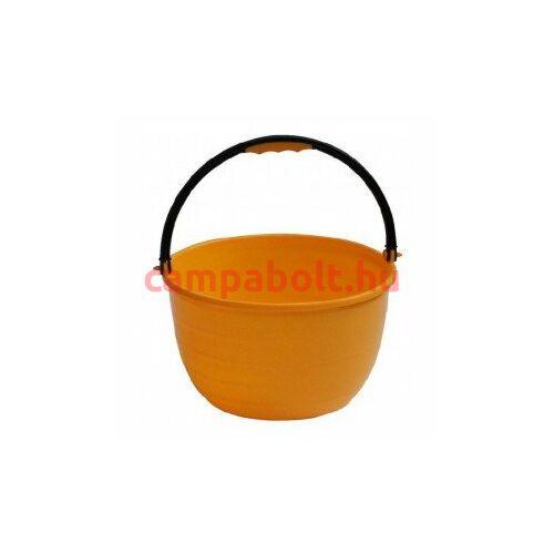 Praktikus, sárga színű vödör pl. mosogatáshoz.