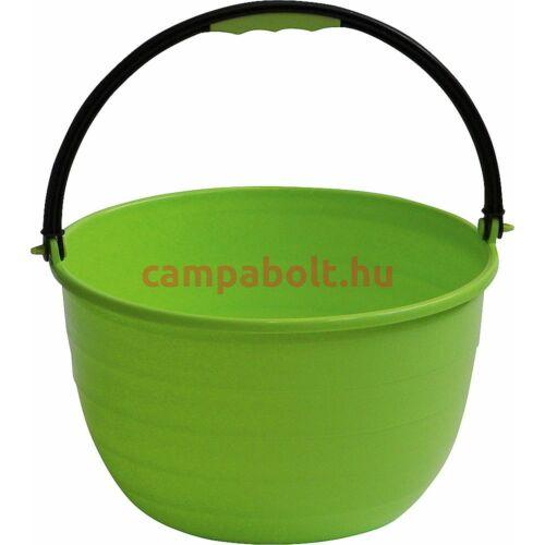 Zöld színű vödör, pl. mosogatáshoz