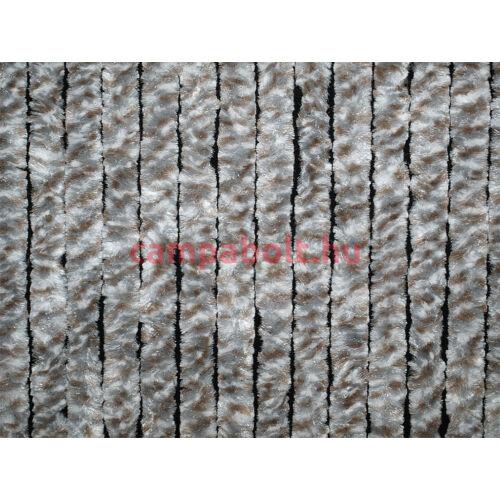 Bejárati függöny 56x205 cm fehér/ezüst/barna