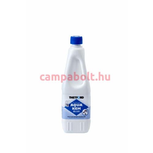 Aqua Kem Blue biológiailag lebomló, hatékony lebontószer hordozható szobai és beépített bio WC-hez.