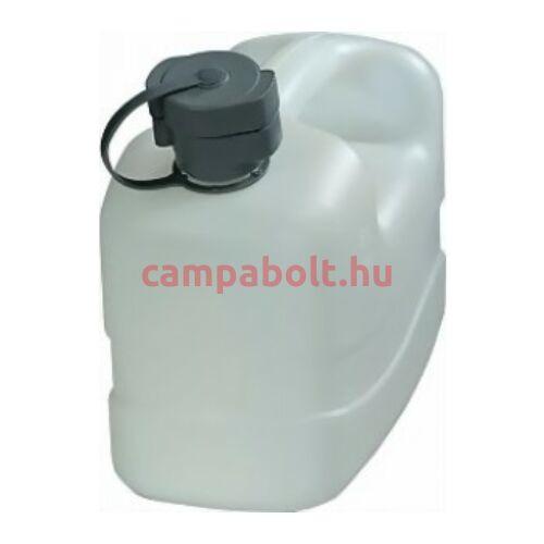 Ivóvízkanna a fedelén kifolyócsővel, 5 liter.