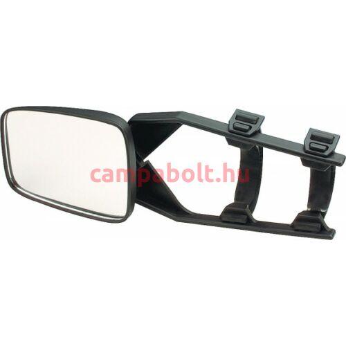 Standard univerzális, gumipántos visszapillantó tükör.